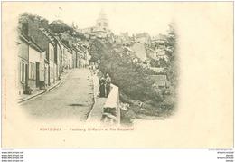 80 MONTDIDIER. 1901 Faubourg Saint-Martin Et Rue Becquerel - Montdidier