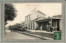 CPA - JUSSEY (70) - Aspect Du Train De Voyageurs, à Vapeur, Entrant En Gare En 1910 - France