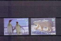 3884/85 POLAR REGIONS POSTFRIS** 2009 - Belgium