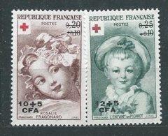 REUNION N° 353/54 ** TB - Unused Stamps