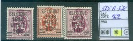 375A-376 X COB 55.00€ - Belgium