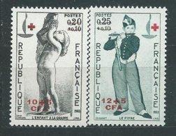 REUNION N° 357/58 ** TB - Unused Stamps