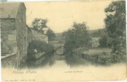Abbaye D'Aulne 1909; Le Bief De Moulin - Voyagé. (Nels - Bruxelles) - Thuin