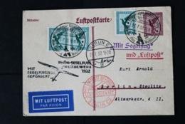 40872) DEUTSCHES REICH Ganzsache P 168 Flugpost Gestempelt Aus 1926 - Deutschland