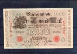 Allemagne. 1000 Mark. Berlin 21 Avril 1910 - [ 2] 1871-1918 : German Empire