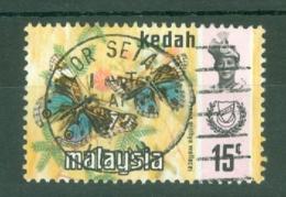 Malaya - Kedah: 1971/78   Butterflies    SG133    15c  [Photo]  Used - Kedah