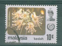 Malaya - Kedah: 1979   Flowers   SG138    10c    Used - Kedah