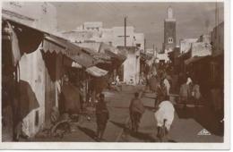 RABAT (Maroc) : Rue Souika. - Rabat