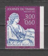 FRANCE / 1997 / Y&T N° 3051a ** : Journée Du Timbre (Mouchon) Avec Surtaxe De Carnet (avec BdC Droit) - France