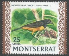 Montserrat. 1970 Birds. 25c MNH. SG 250 - Montserrat