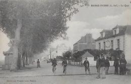 CPA De BASSE-INDRE   Le Quai - Basse-Indre