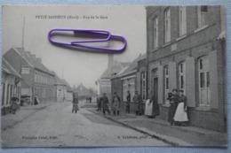 PETIT-BAISIEUX- Rue De La Gare En 1921 - France
