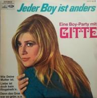 """Gitte (Haenning)  """"  Jeder Boy Ist Anders Eine Boy-party Mit   """" - Vinylplaten"""