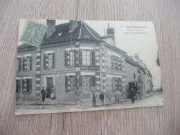 CPA 89 Yonne Saint Florentin Place De La Halle Et Faubourg Saint Martin - Saint Florentin