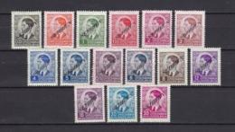 Serbien - 1941 - Michel Nr. 31/45 - Ungebr. - 40 Euro - Occupation 1938-45