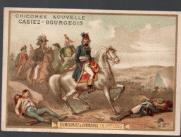 Jemmapes (Algérie) (révolution Française) Chromo Casiez-Bourgeois : Dumouriez à Jemmapes (PPP20781) - Cromo