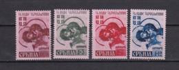 Serbien - 1941 - Michel Nr. 54/57 - Ungebr. - Bezetting 1938-45