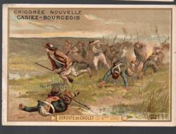Cholet (49 Maine Et Loire)  (révolution Française) Chromo Casiez-Bourgeois : Déroute De Cholet  (PPP20782) - Cromo