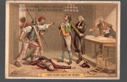 Paris  (révolution Française) Chromo Casiez-Bourgeois : L'abbé Sicard Sauvé Par Monot   (PPP20783) - Cromo