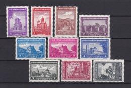 Serbien - 1942 - Michel Nr. 71/73+75/81 - Ungebr. - Bezetting 1938-45