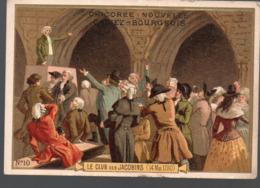 Paris  (révolution Française) Chromo Casiez-Bourgeois : Le Club Des Jacobins   (PPP20784) - Cromo