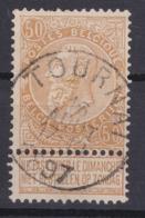 N° 62 TOURNAI - 1893-1900 Thin Beard