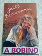 AFFICHE ANCIENNE ORIGINALE SPECTACLE CHANTEUR BELGE JULOS BEAUCARNE A BOBINO RCA 1970' - Manifesti & Poster