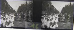 BERLIN : Siegessäule (?), Vers 1910. Plaque De Verre Stéréoscopique. Négatif - Diapositiva Su Vetro