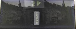 BANYULS : Le Poste Frontière, La Douane. Plaque De Verre Stéréoscopique. Négatif - Plaques De Verre