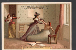 Paris  (révolution Française) Chromo Casiez-Bourgeois : Assassinat De Marat   (PPP20786) - Cromo