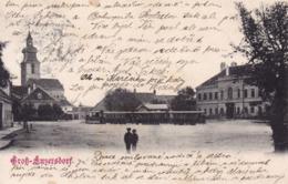 Groß Enzersdorf * Tram, Platz, Stadtteil * Österreich * AK1499 - Gänserndorf