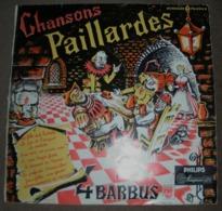 VINYL MICROSILLON PHILIPS CHANSONS PAILLARDS - Humour, Cabaret