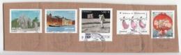 France 2019, 5x Used Stamps On Paper, Fine Used. - Frankrijk