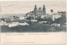 Saludo De Las-Plamas Vista De La Catedral Y Sus Alrededores - La Palma
