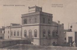 CP  CASABLANCA MAROC - CONSULAT D'ALLEMAGNE - Casablanca