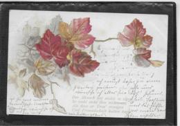 AK 0340  Herbstlaub Idylle - Lithographie Um 1901 - Blumen