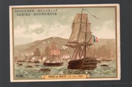 Malte (révolution Française) Chromo Casiez-Bourgeois :prise De Malte Juin 1798 (PPP20790) - Cromo