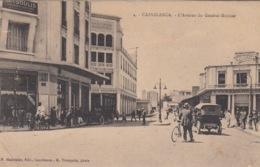 CP  CASABLANCA MAROC - AVENUE GENERAL MOINIER -MAGASINS MODERNES - Casablanca