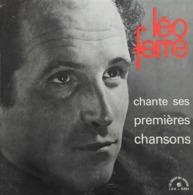 """Léo Ferré  """"  Chante Ses Premières Chansons  """" - Vinylplaten"""