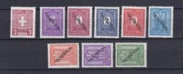 Serbien - 1941/43 - Dienst. U. Portomarken - Michel Nr. 1+1/8 - Ungebr. - 25 Euro - Occupation 1938-45