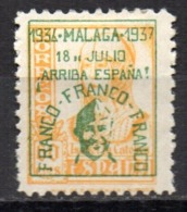Sello  Nº 46hcca  Malaga - Republikanische Ausgaben