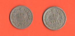 20 Centesimi 1894 1895 Roma  Nikel Re Umberto I° Regno Italia Non Comuni - 1878-1900 : Umberto I.