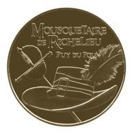Monnaie De Paris , 2019 ,Les Epesses , Puy Du Fou , Mousquetaires De Richelieu , Chapeau Et épée - Monnaie De Paris