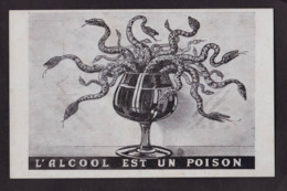 CPA Alcoolisme Alcool Non Circulé Antialcoolique - Health