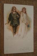 Illustrateur - Raphael Tuck - Un Mot à La Poste, Série 66. 8 - Théâtre Hamlet, Harold Copping Ill. Pub Chicorée Arlatte - Tuck, Raphael