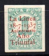 Sello Nº 32  La Linea De La Concepcion - Republikanische Ausgaben