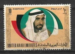 USED STAMP UNITED ARAB EMIRATES - Ver. Arab. Emirate