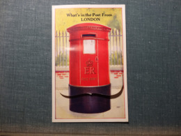 Whats In The Post From London  - Leporello (3209) - Sonstige