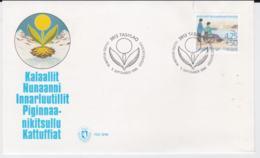 Greenland FDC 1996 Welfare Stamp (G103-51) - FDC