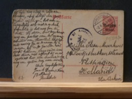 81/869   CP HERENTHALS POUR LA HOLLANDE CENSURE - Other Covers